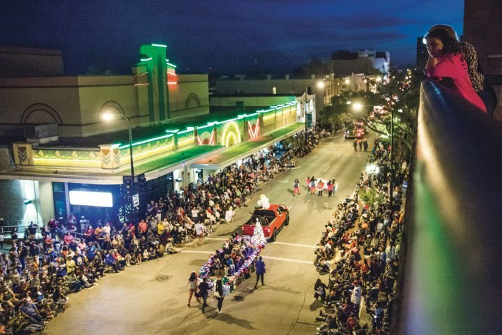Victoria's Lighted Christmas Parade