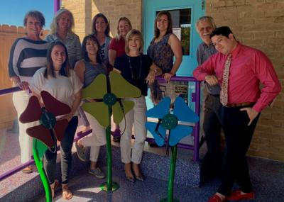 Victoria Fine Arts Association donated musical flower exhibit to Children's Discovery Museum