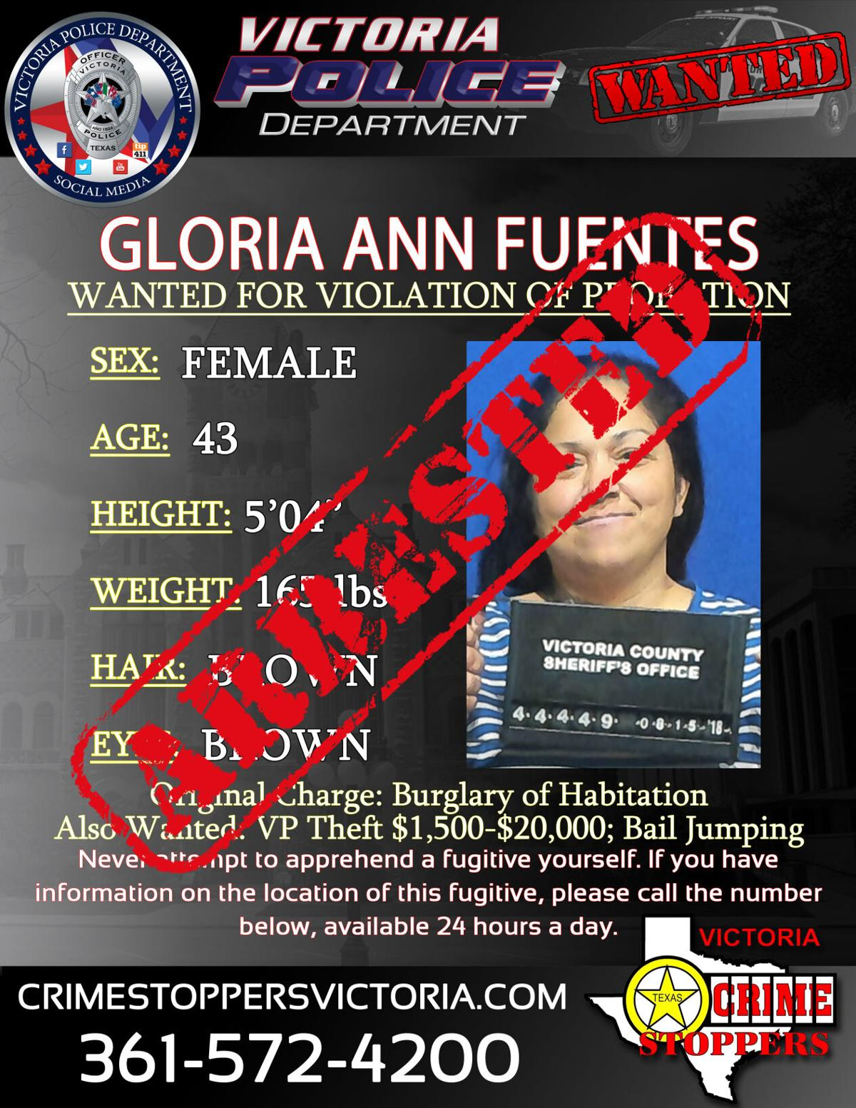 Arrested: Gloria Ann Fuentes