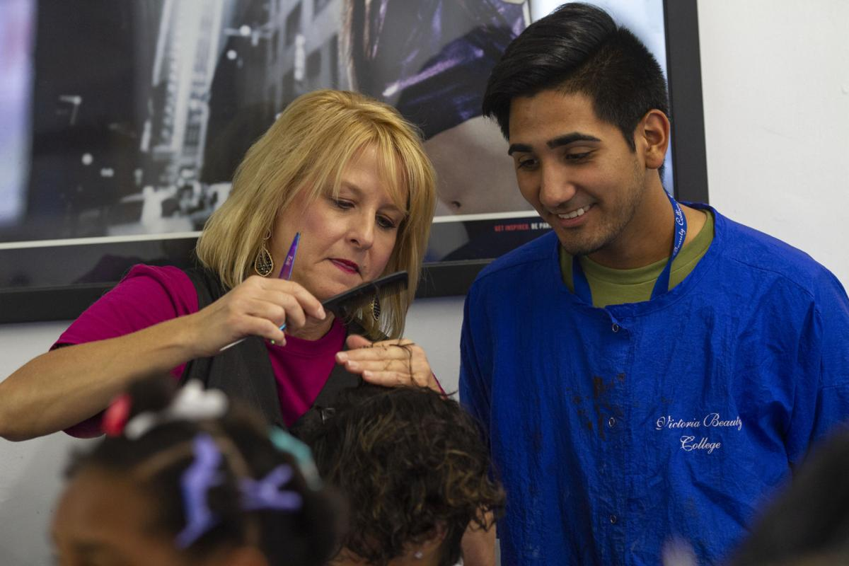 Hair-a-Thon at Victoria Beauty College