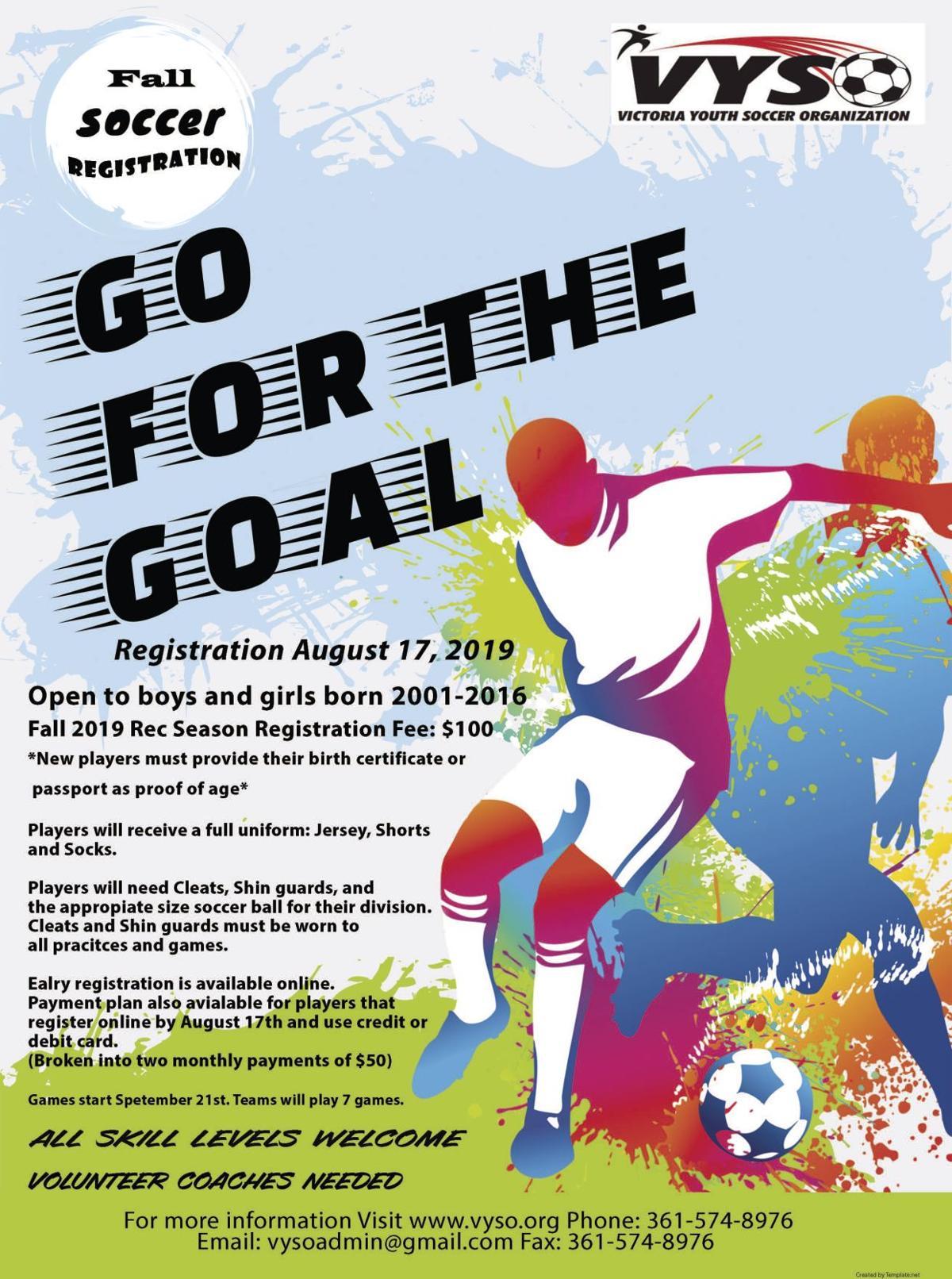VYSO Fall 2019 REC Soccer