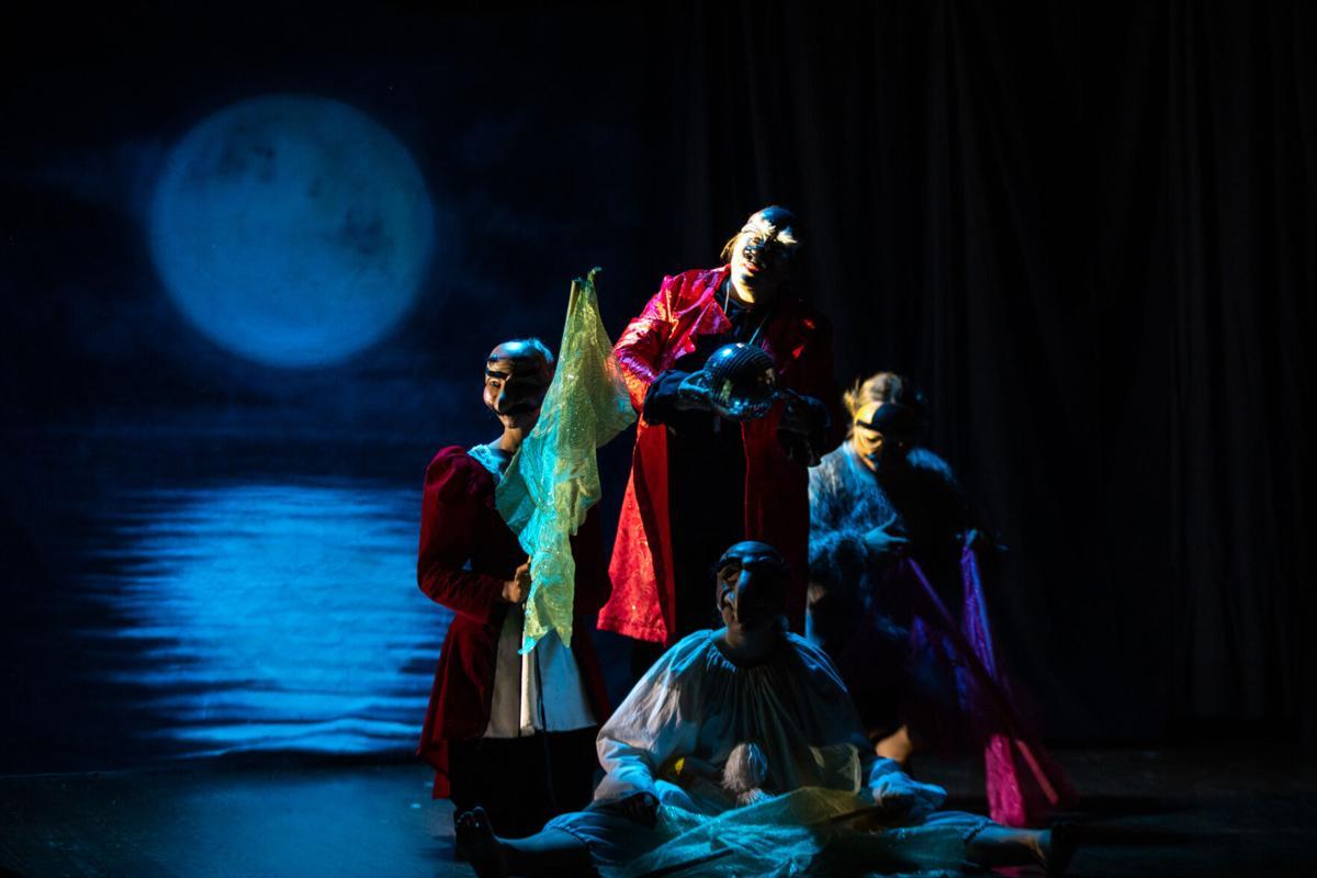 Pinocchio Commedia at the Shiner Gaslight Theatre