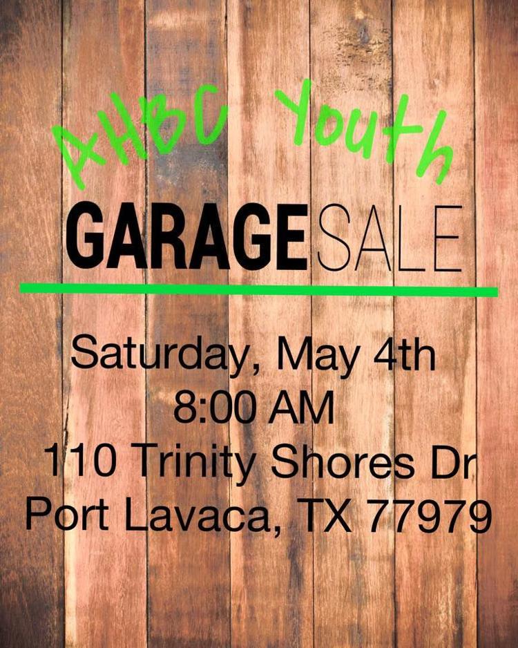 Alamo Heights Baptist Church Youth Garage Sale | Calendar