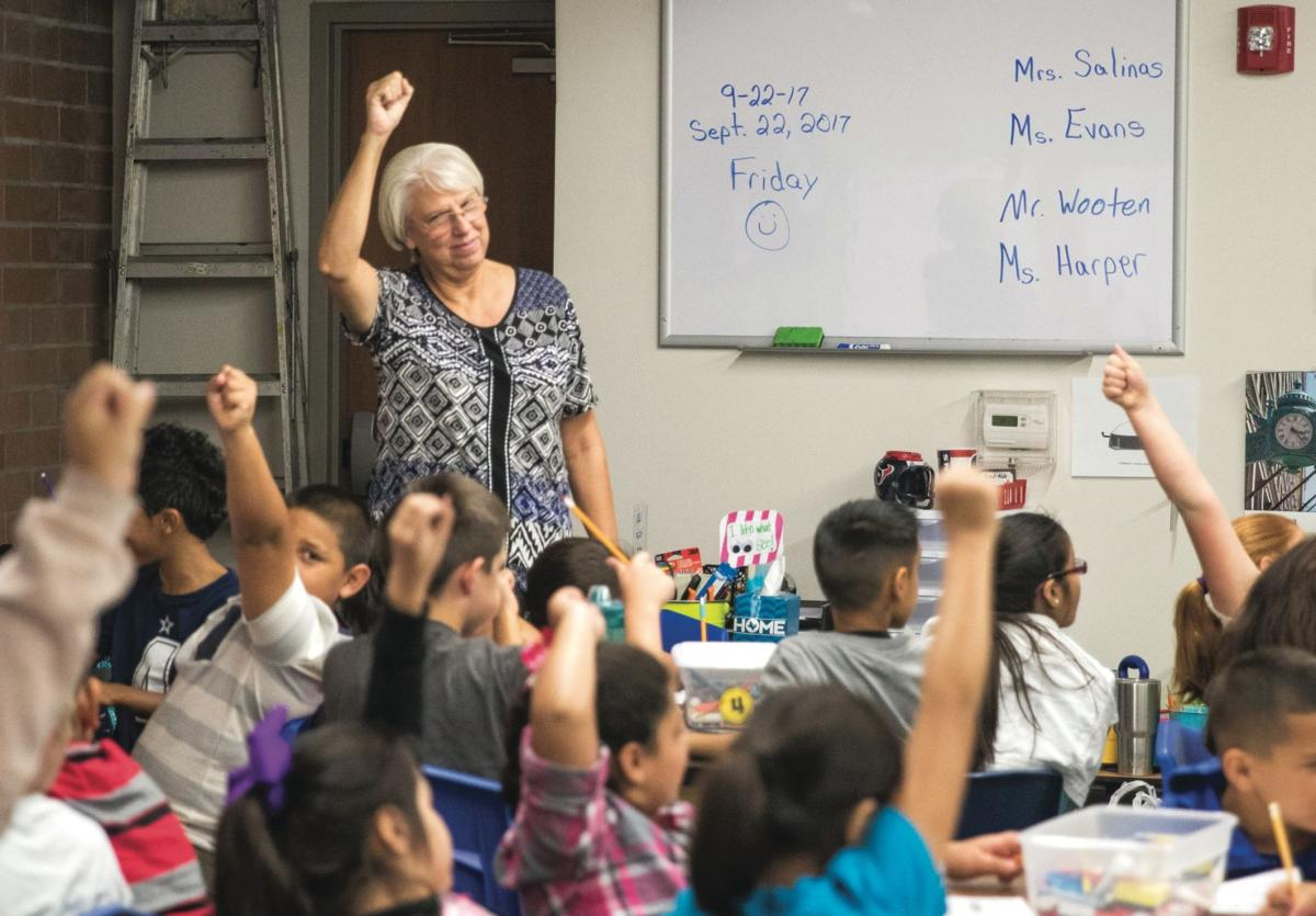 Bloomington Elementary School educates students in FEMA dome