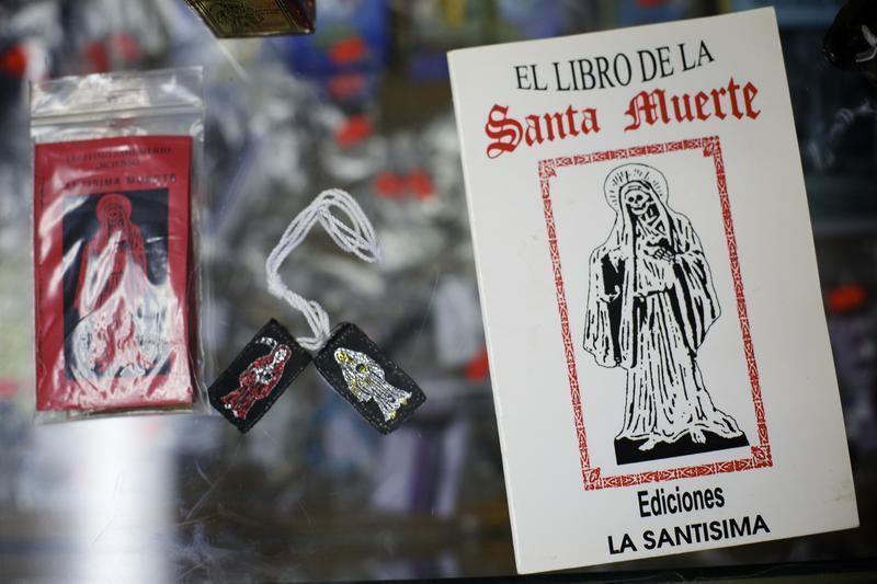 Santisima Muerte comes to Victoria   Local News   victoriaadvocate com