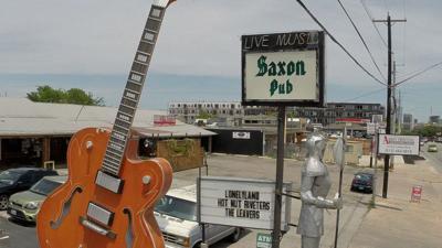 Austin's Saxon Pub at 1320 S Lamar Blvd is the focus of Jeff Sandmann's documentary