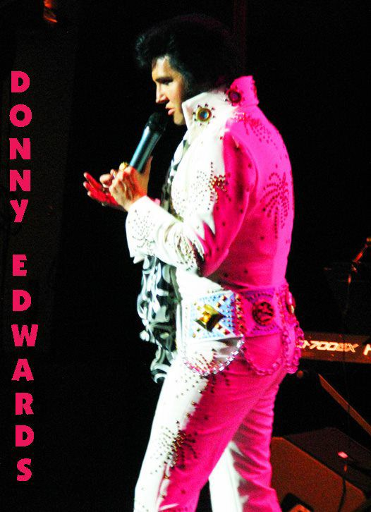 Donny Edwards to perform an 'Authentic Tribute to Elvis' at the Welder Center