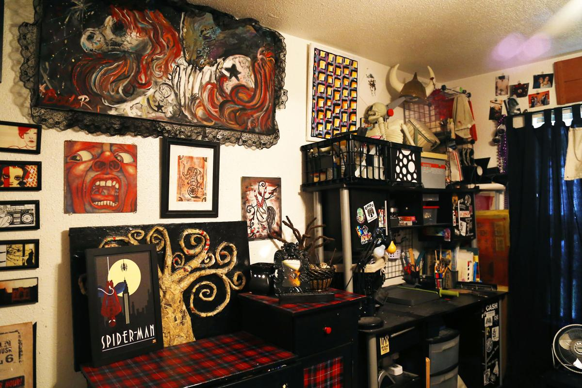 Punk Rock Couple Shows Off Personality In Home Decor