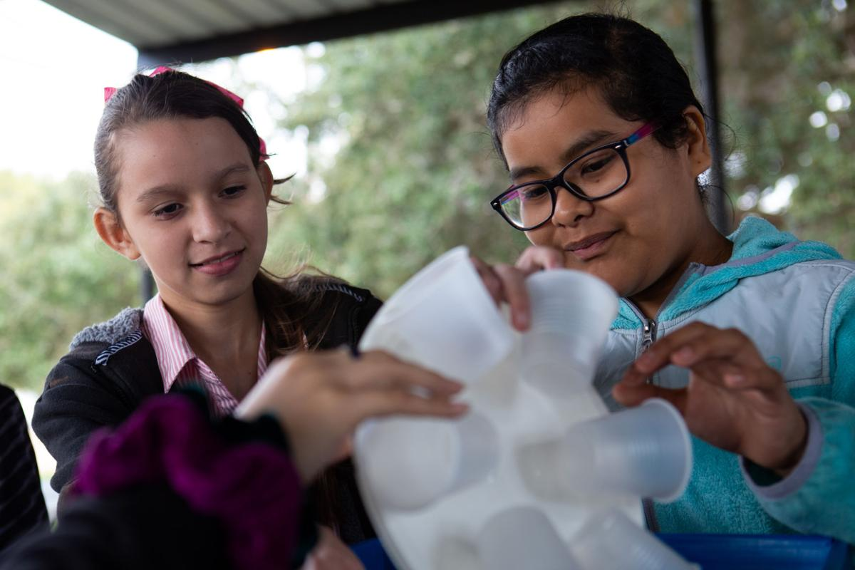 Students get hands-on environmental learning experience at Coleto Creek