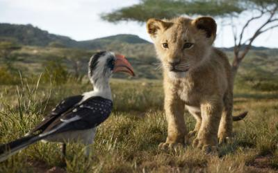 A scene from Disney's live-action version of 'The Lion King'