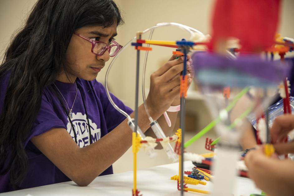 Youth learn about engineering, robotics through STEM camp