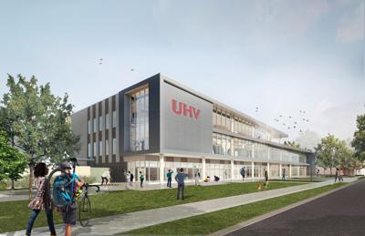 UHV University Commons open house rendering