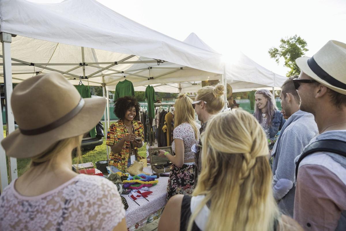 festival or market