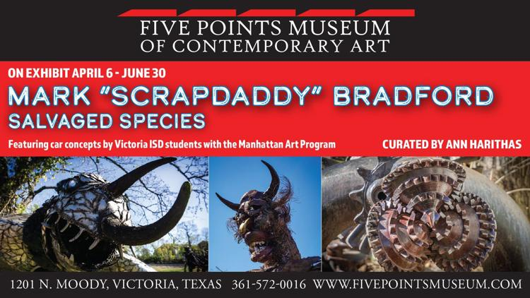 """Mark """"Scrapdaddy"""" Bradford: Salvaged Species"""