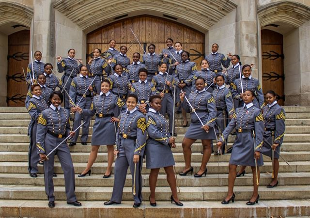34 black women graduated from the U.S. Military Academy at West Point