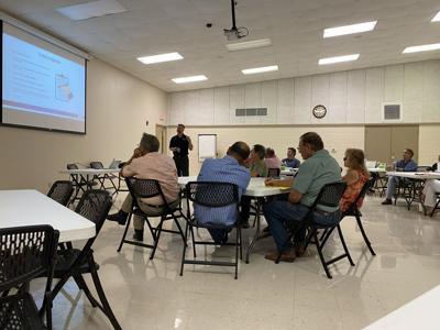 Community task force talk potential bond, salary increases