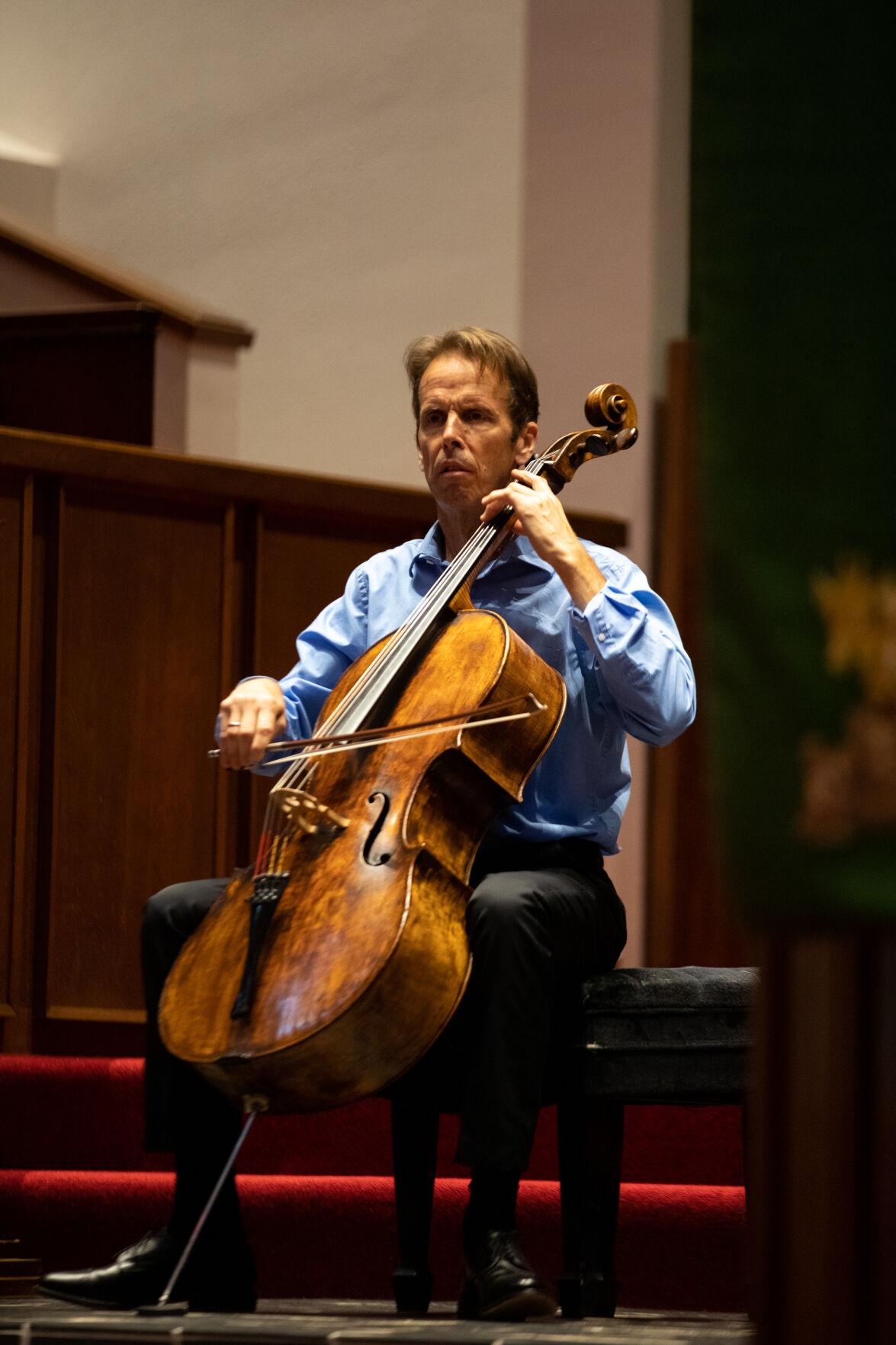 Bach Cello Suites: Greg Sauer