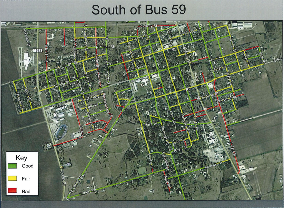 South side street map