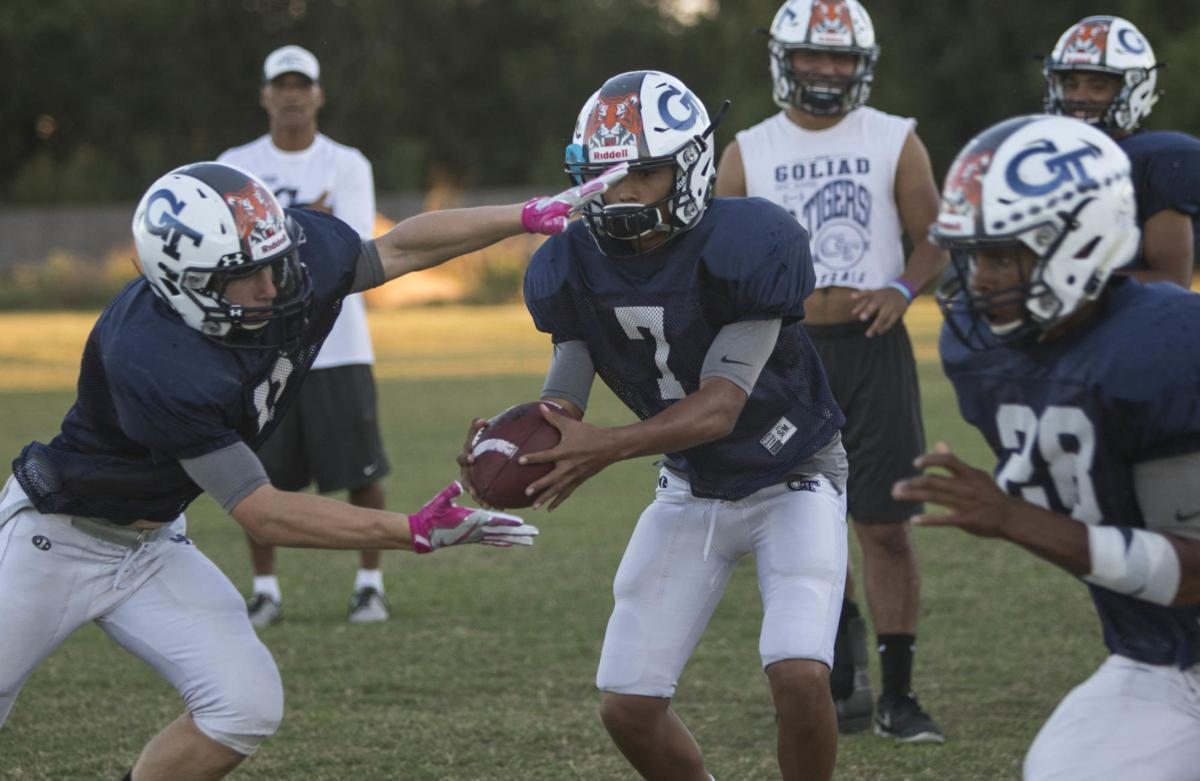 Young Goliad team battle-tested for district play