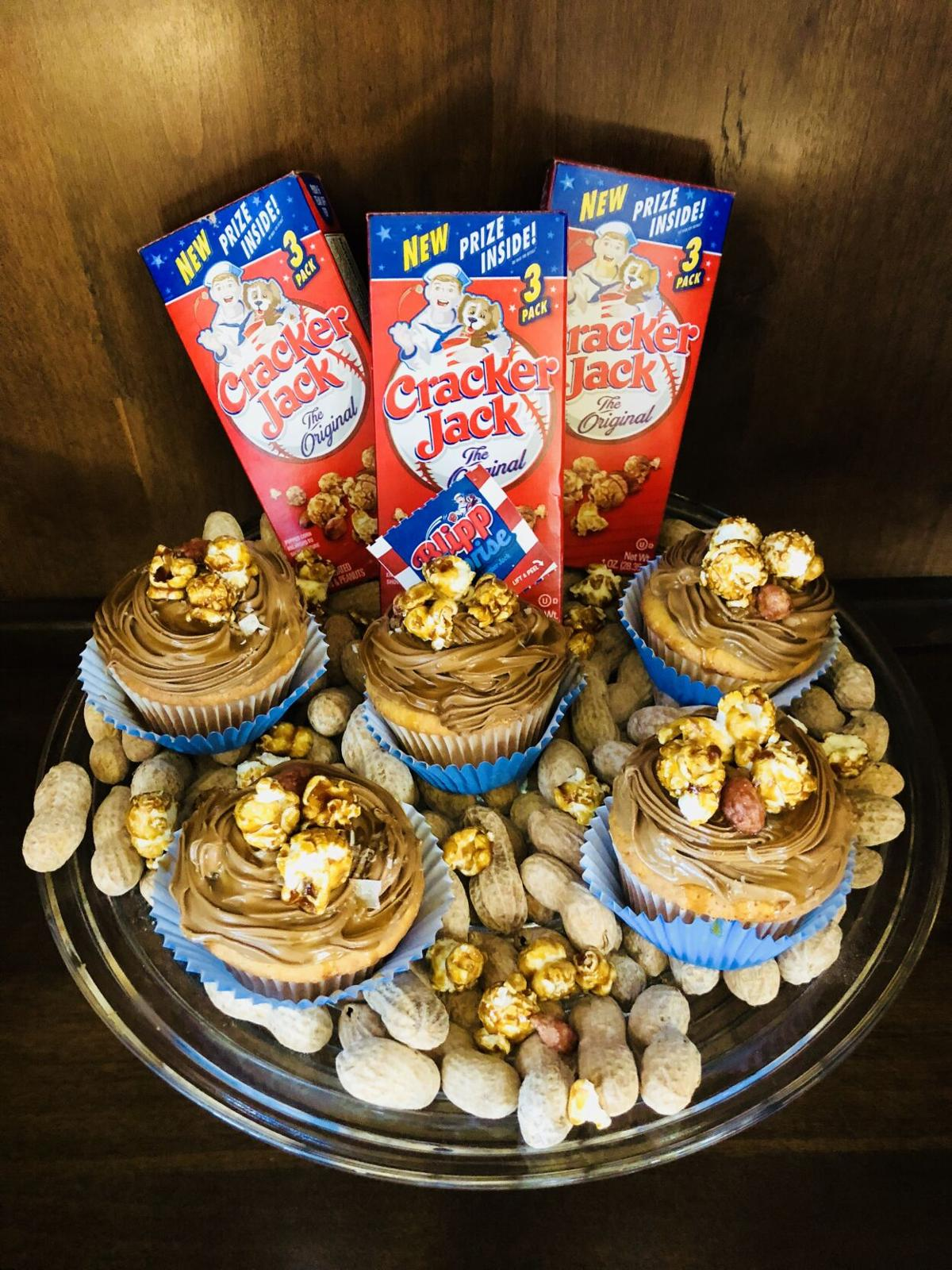 Cracker Jack Cupcakes