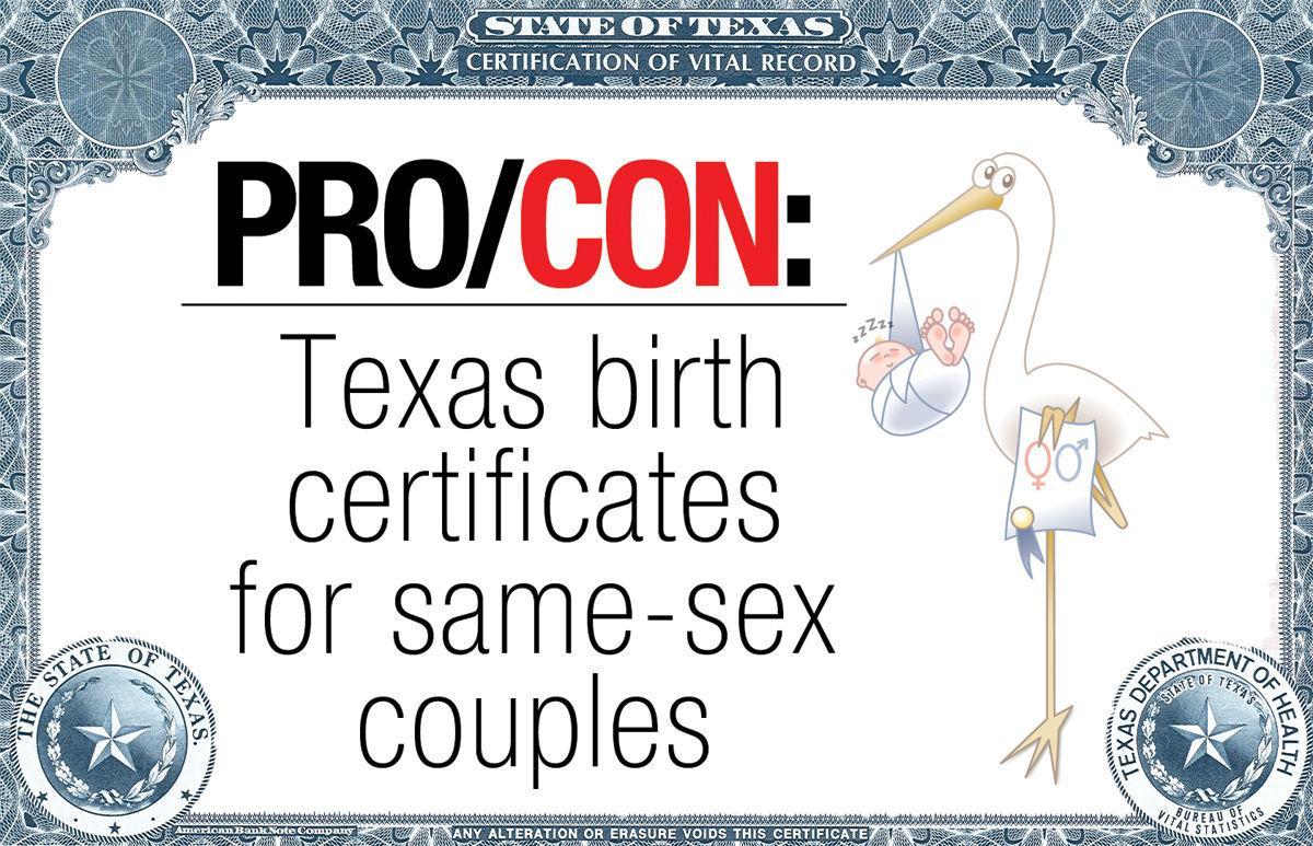 Procon should texas birth certificates list same sex parents procon should texas birth certificates list same sex parents 1betcityfo Gallery