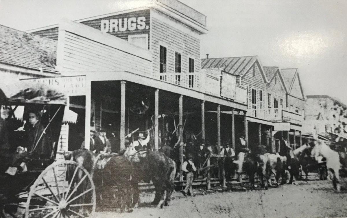 1859 Victoria street scene