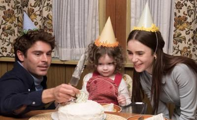 Zac Efron as Ted Bundy and Lily Collins as Liz Kloepfer in 'Extremely Wicked, Shockingly Evil, and Vile'