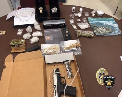 VPD seizes drugs, gun and jewelry