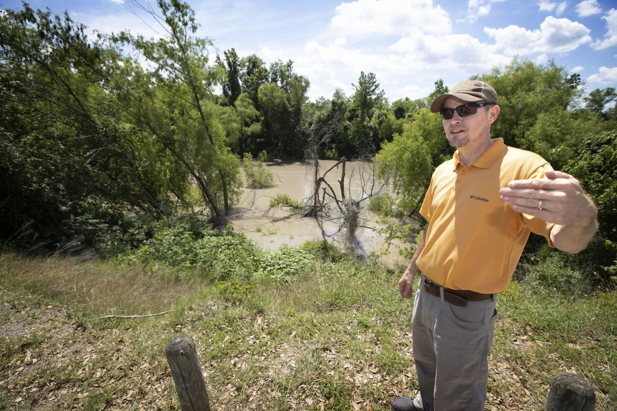 City to shore up riverbank