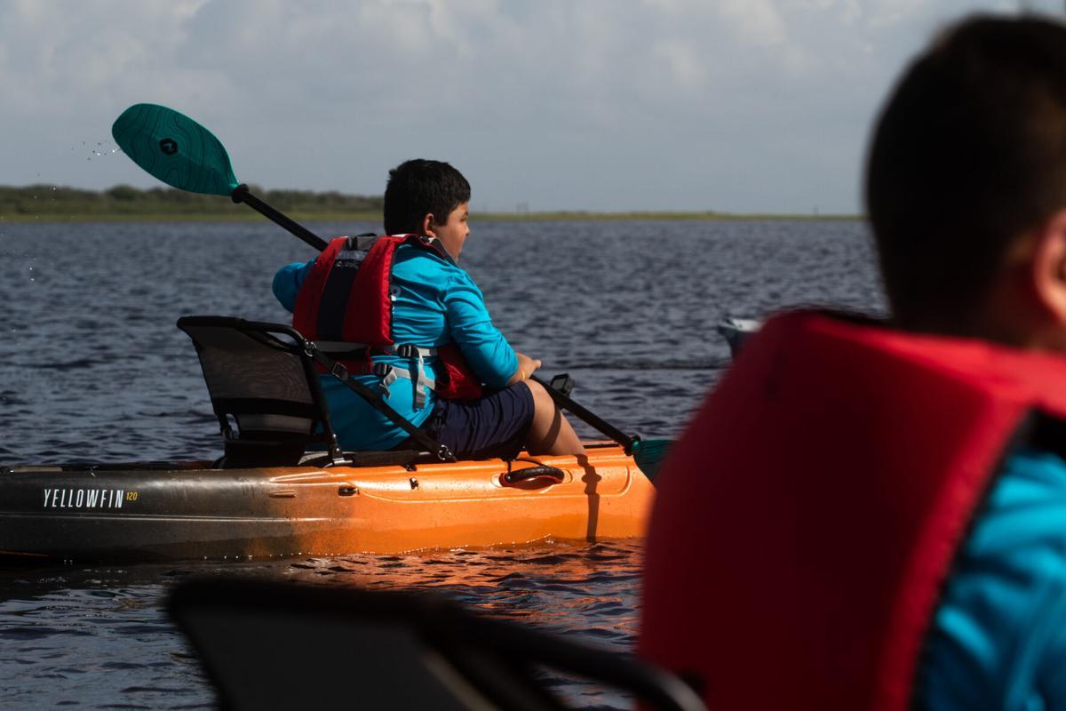YMCA Kayaking Trip at Boggy Nature Park