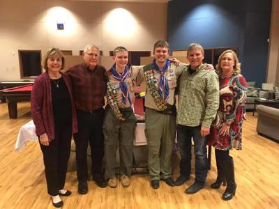 Pictured from left: Jane Wendel, Halley Wendel, Kyle Bryant Wendel, Steven Paul Wendel, Randy Wendel, Angela Hanselman Wendel