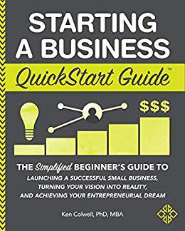 UHV business dean publishes book about starting businesses