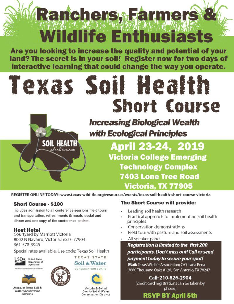 Conference about soil health to be held in Victoria
