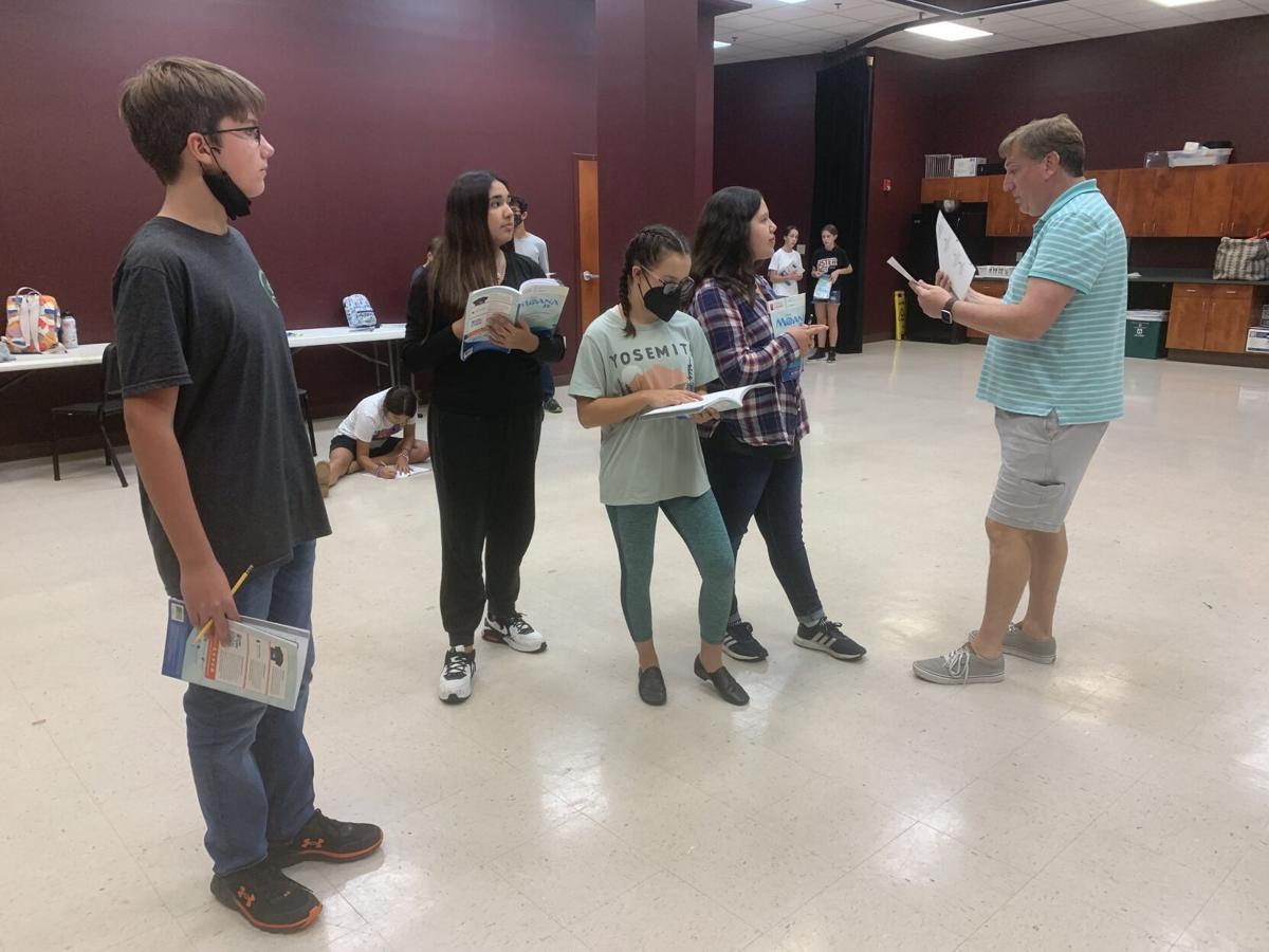 'Moana Jr.' rehearsal