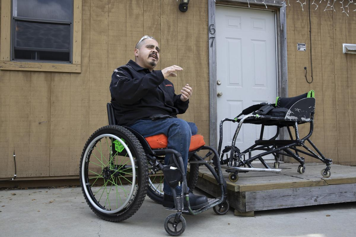 VC student strives to design custom wheelchairs
