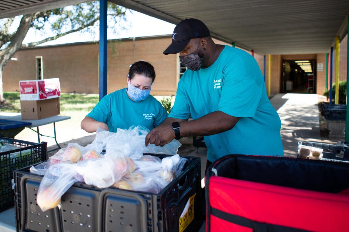 VISD meal distribution