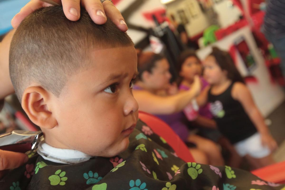 Event Provides Free Haircuts School Supplies Business