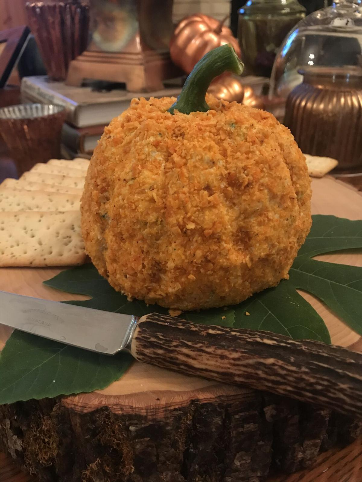Fall foods: Nacho Cheese Ball Punkin