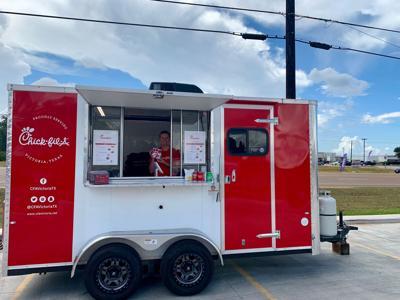 code promo pop carte Chick fil A pop up truck to visit Cuero Regional Hospital   Local