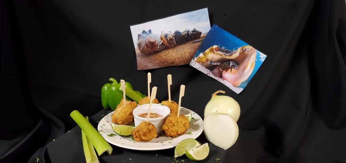 The Bahamas still a paradise, home to conch fritters
