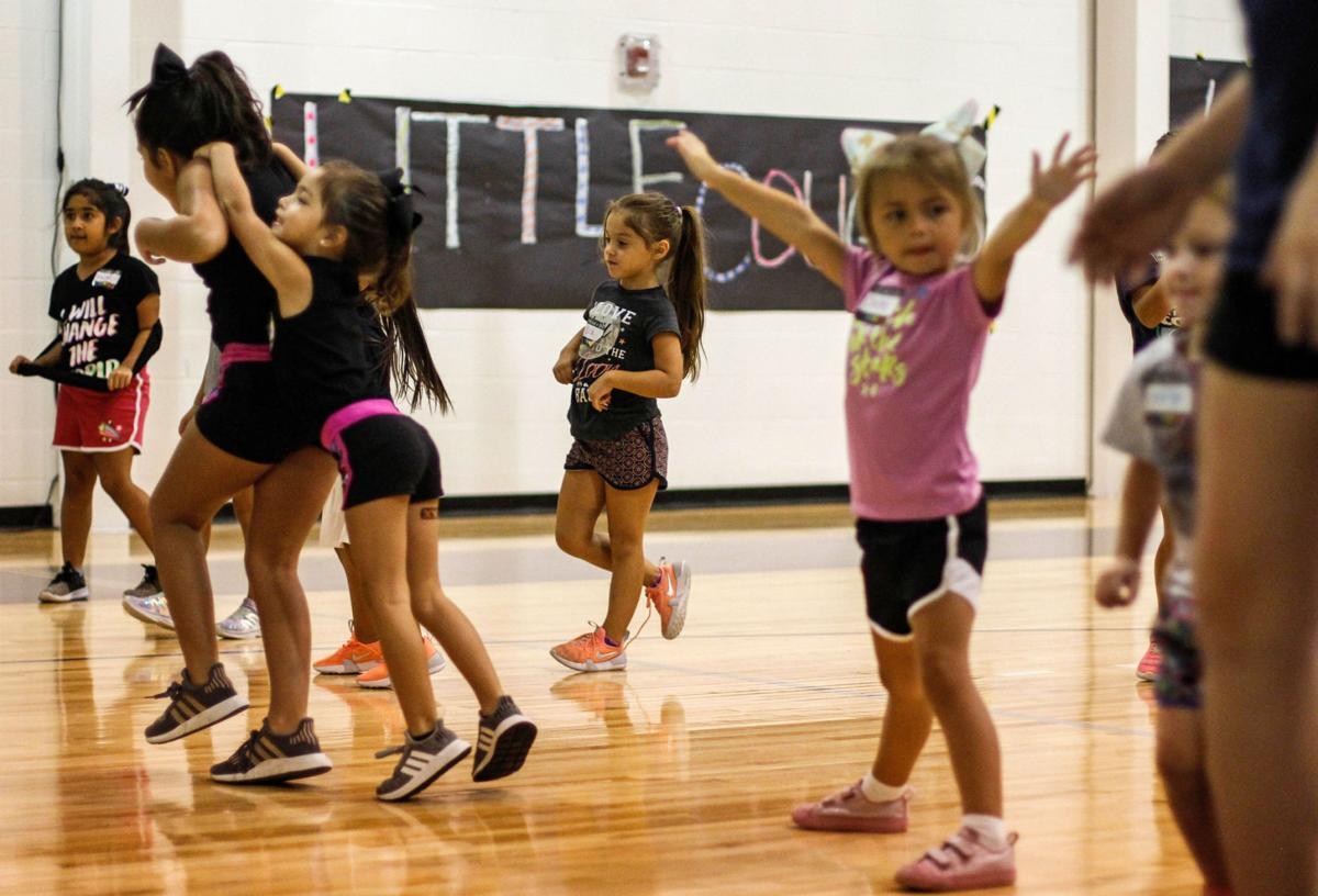 Faith Academy cheer camp