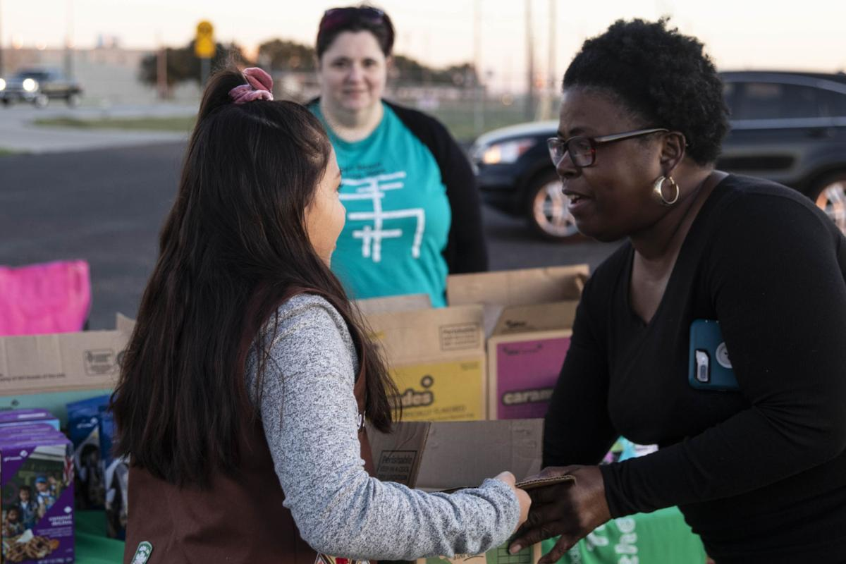 Girl Scout cookies for sale around the Crossroads