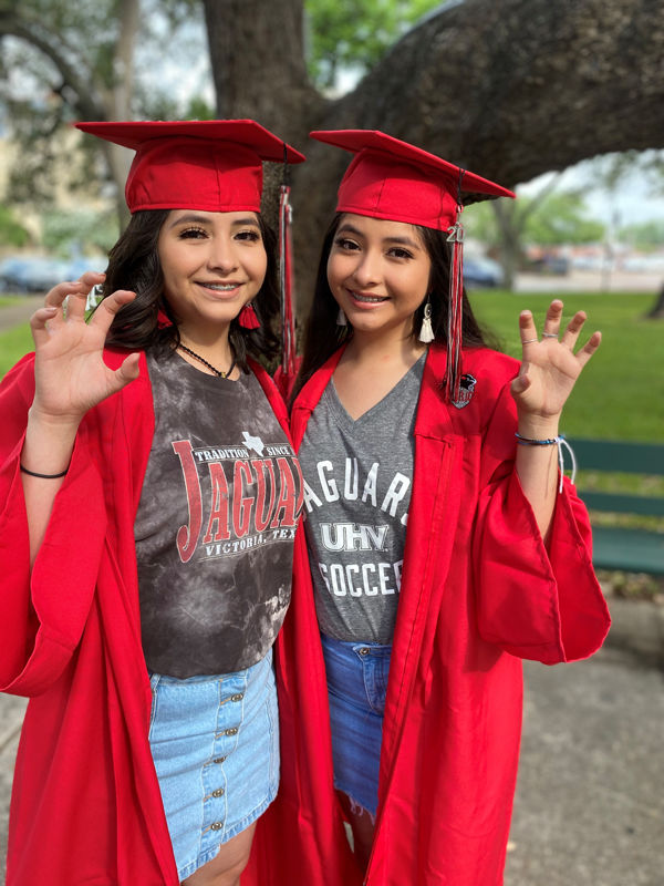 Twins accepted to UHV as first in family to go to college