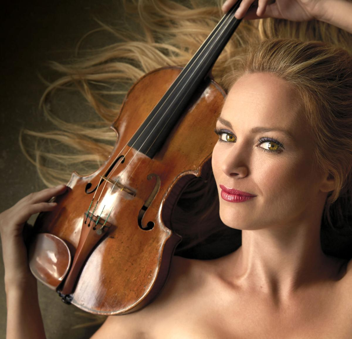 Classical crossover violinist Caroline Campbell will perform at the opening of the 46th season of the Victoria Symphony Orchestra on Sept. 21