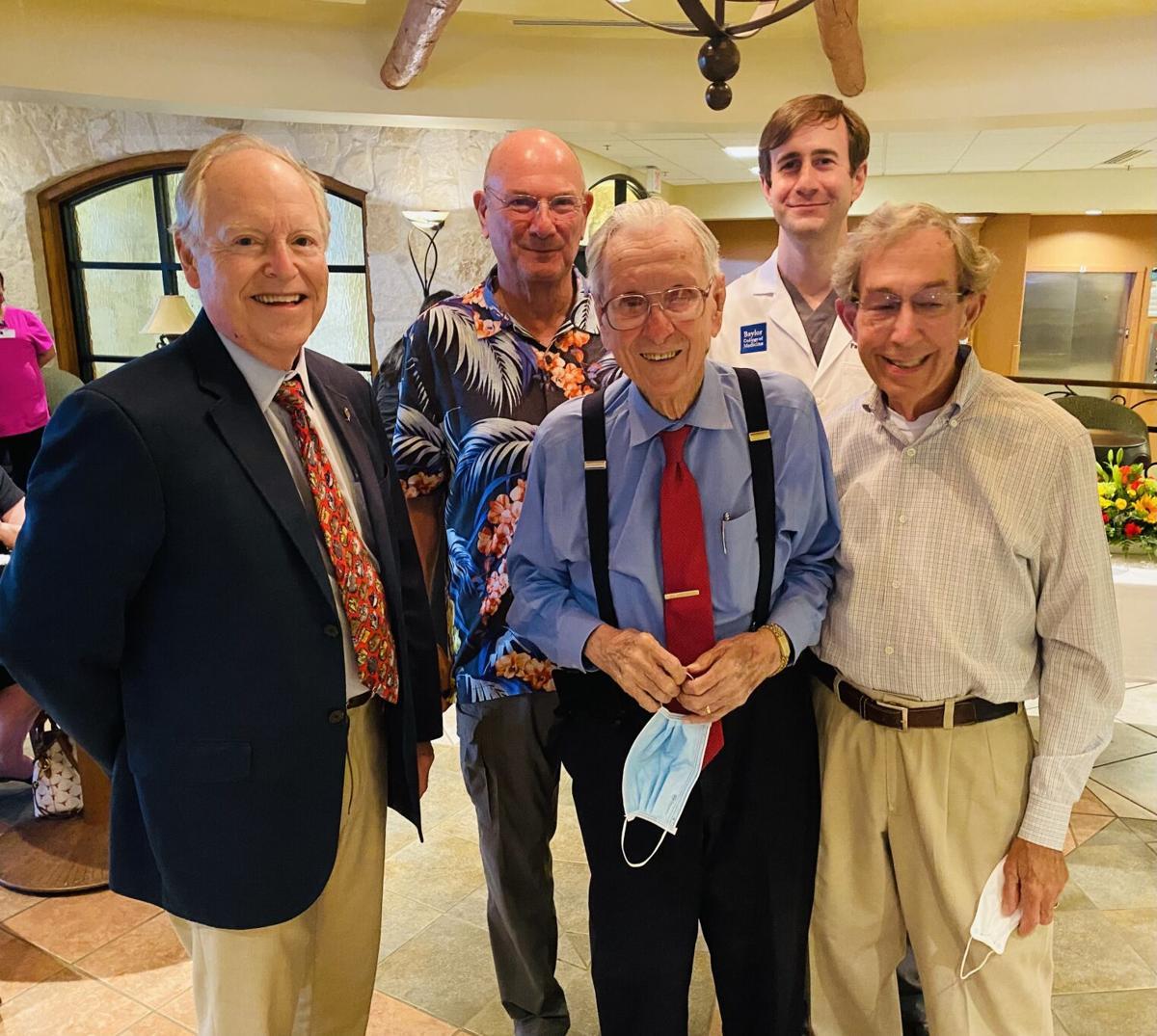 Surprise party for Dr. Larry Riedel