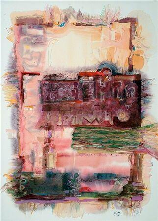 """Oaxaca III"" created by Carole Myers in 1986"
