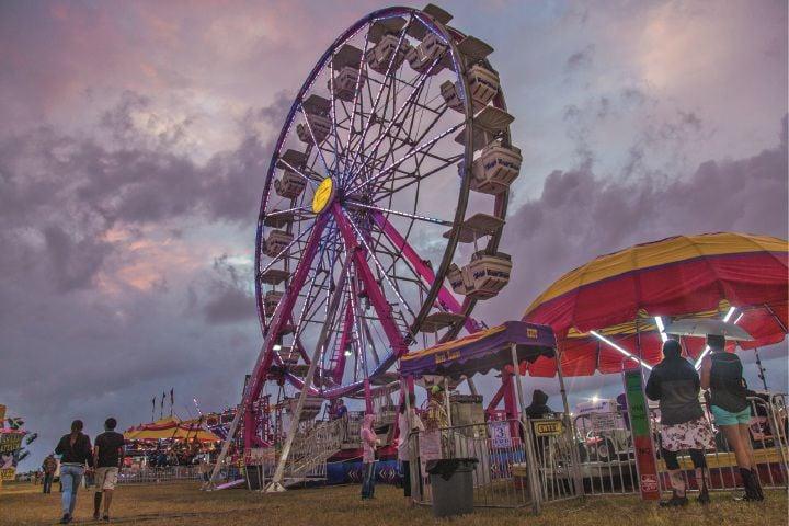 Fun at the Calhoun County Fair