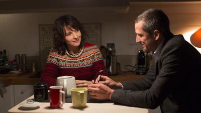 Juliette Binoche and Guillaume Canet star in 'Non-Fiction'