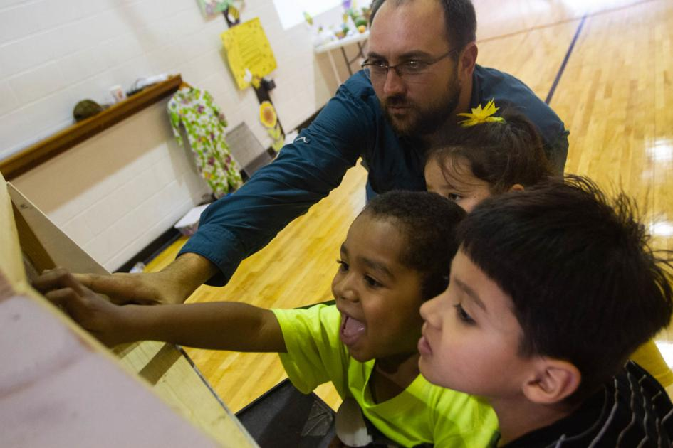 Students learn about the world of bees for Earth Day