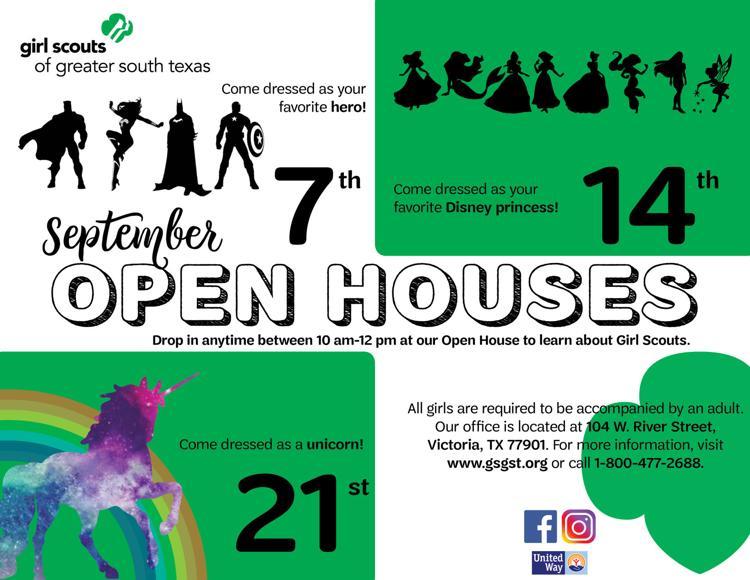 Girl Scouts - September Open Houses